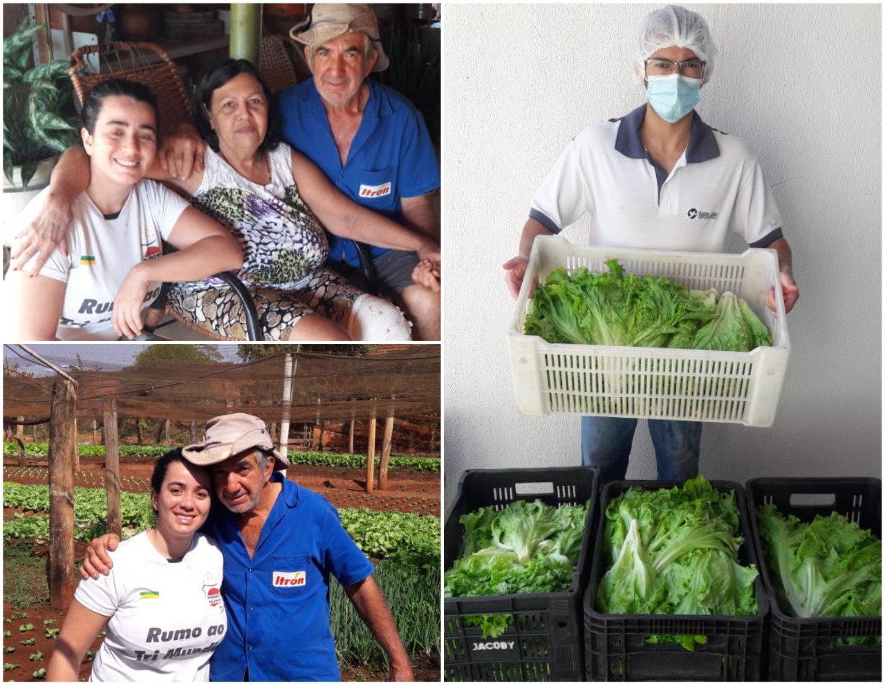 Produtores de Cosmorama doam verduras para Santa Casa