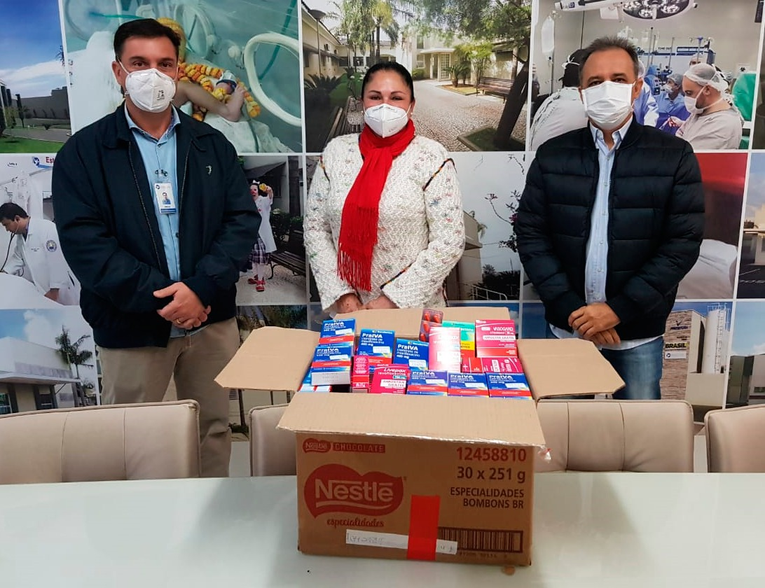 Santa Casa recebe doação de medicamentos