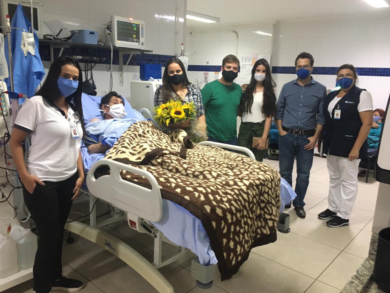 COVID-19: Paciente fica internado 58 dias na Santa Casa