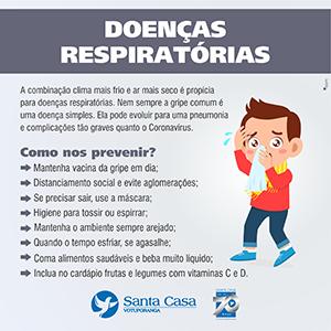 Prevenção: cuidados com as doenças respiratórias devem ser mantidos