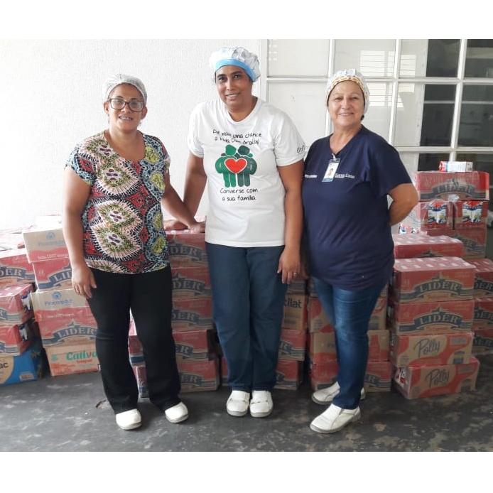 Igreja Adventista Boa Semente destina 1.680 litros de leite