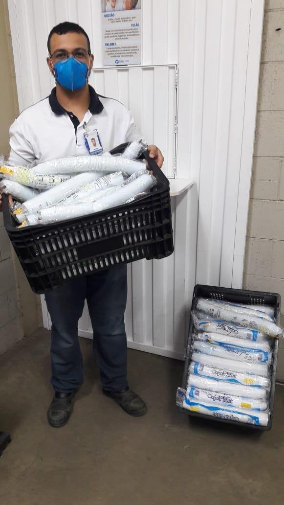 Senac Votuporanga faz doação de materiais de consumo