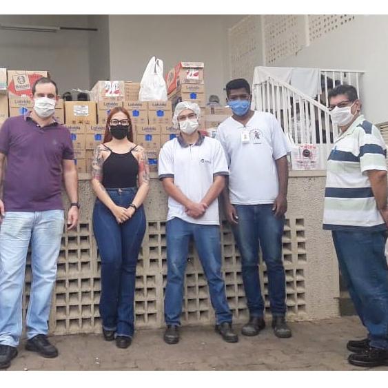 Américo de Campos: 1.109 litros de leite e 60 quilos de arroz