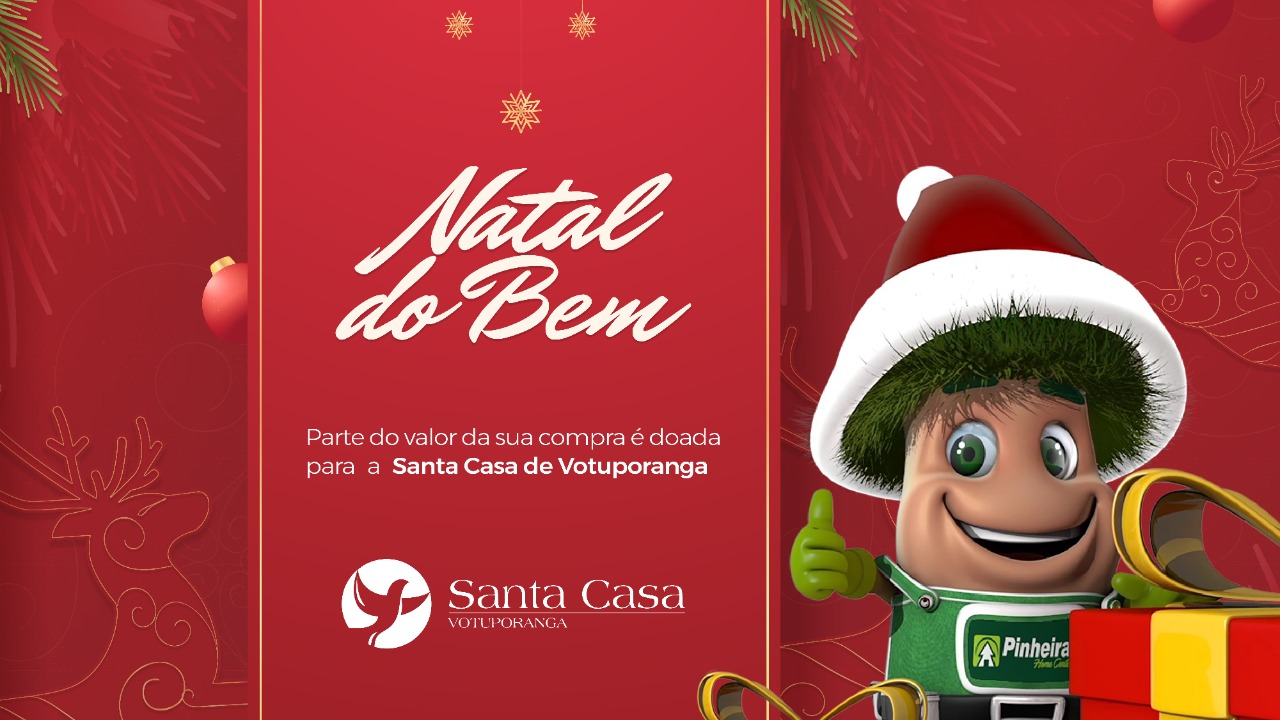 Pinheiral realiza mais um Natal do Bem em prol da Santa Casa
