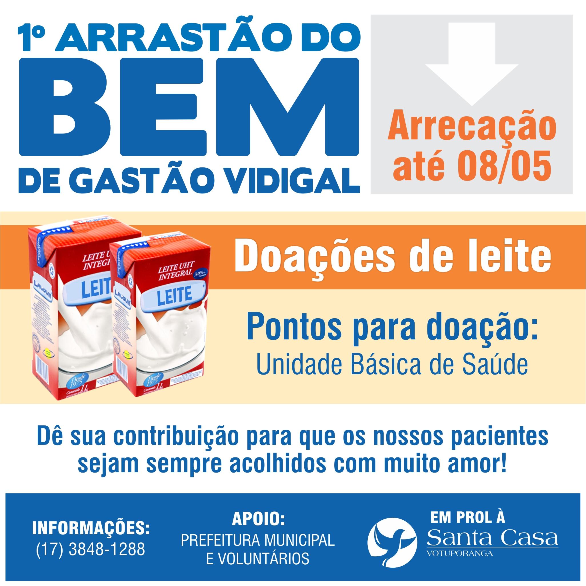 Arrastão do Bem: Gastão Vidigal se une nesta quarta-feira