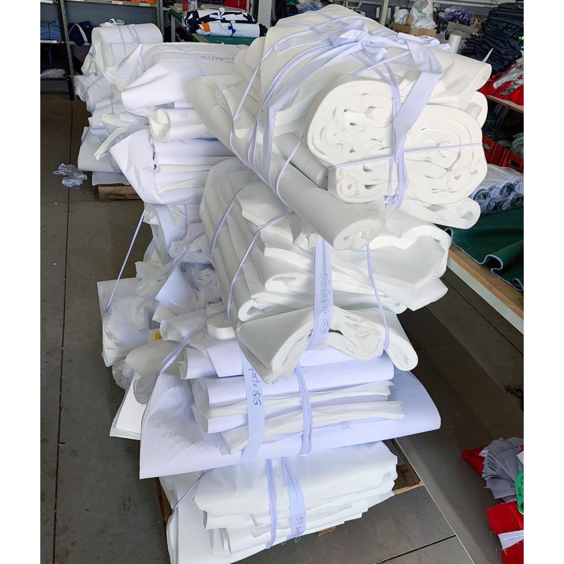 Uniformes Votuporanga produz aventais para Santa Casa