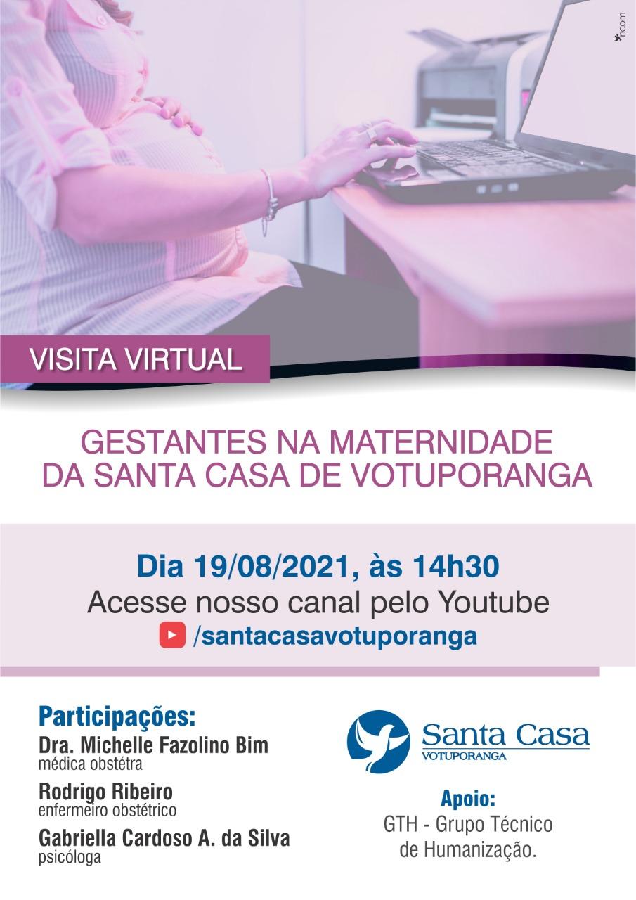 Santa Casa faz tour virtual da Maternidade para gestantes