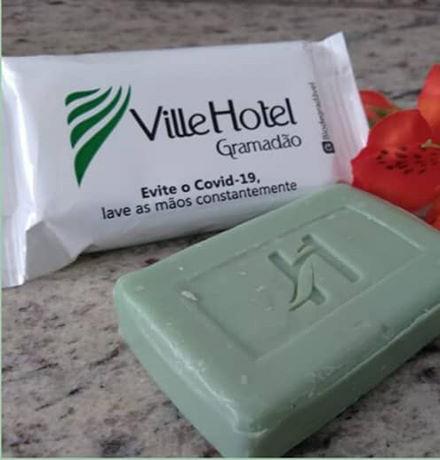 Ville Hotel Gramadão destina 600 sabonetes para Santa Casa