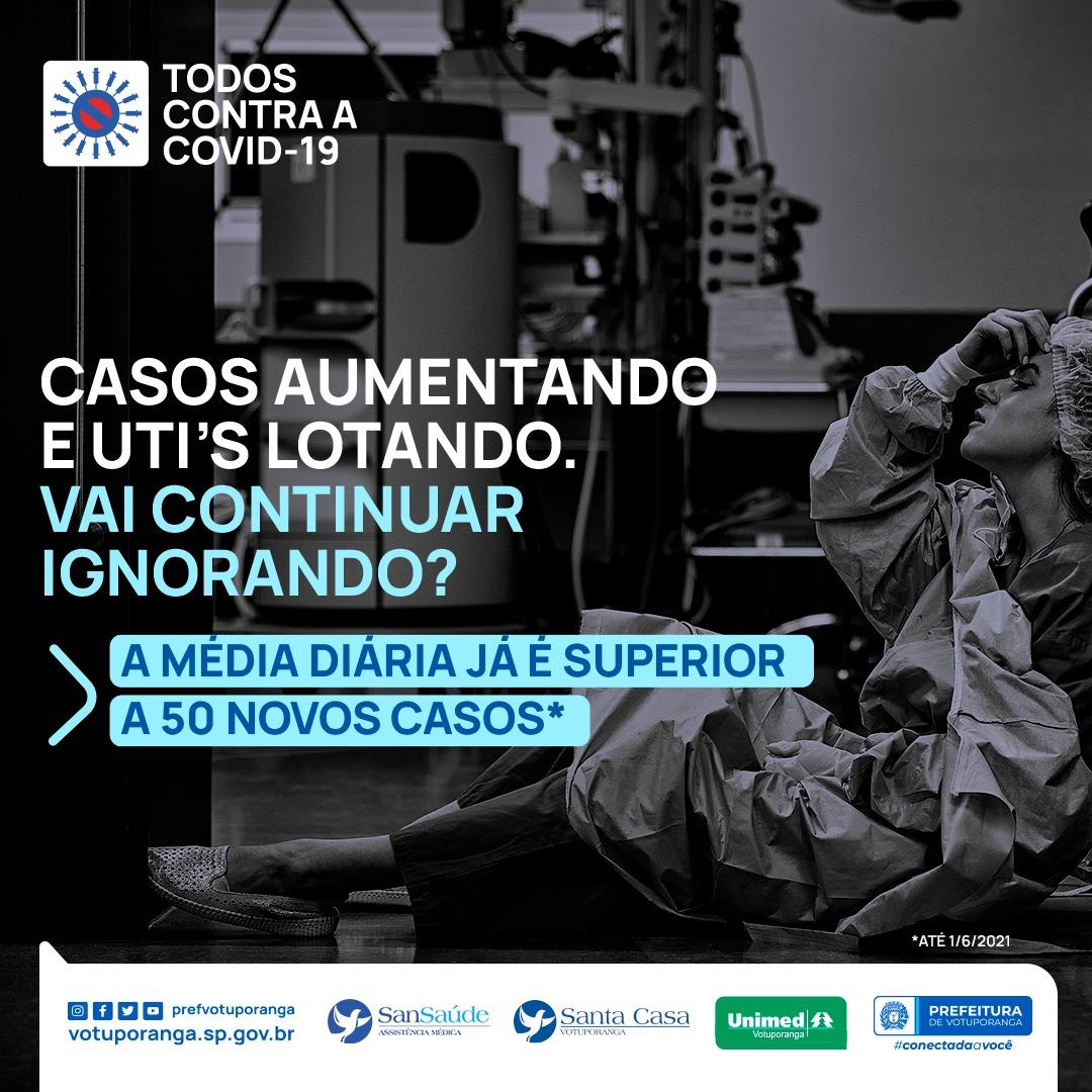 Covid-19: Prefeitura de Votuporanga, Unimed, Santa Casa e SanSaúde se unem em campanha de sensibilização